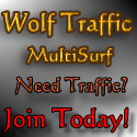 Get more Traffic from Wolf Traffic!